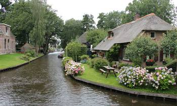 Giethoorn: die Venice of The North